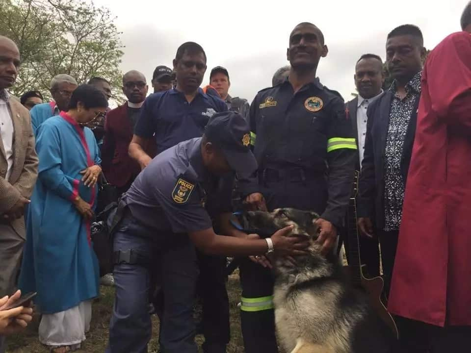Meet Collin Chetty and Ghost, the officers who found little Miguel Louw's body