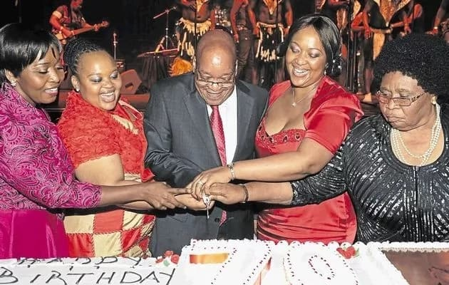 How many wives does Jacob Zuma have exactly?