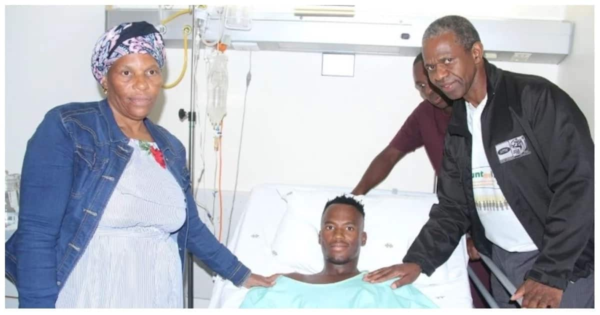 SA triathlete Mhlengi Gwala is in high spirits following surgery