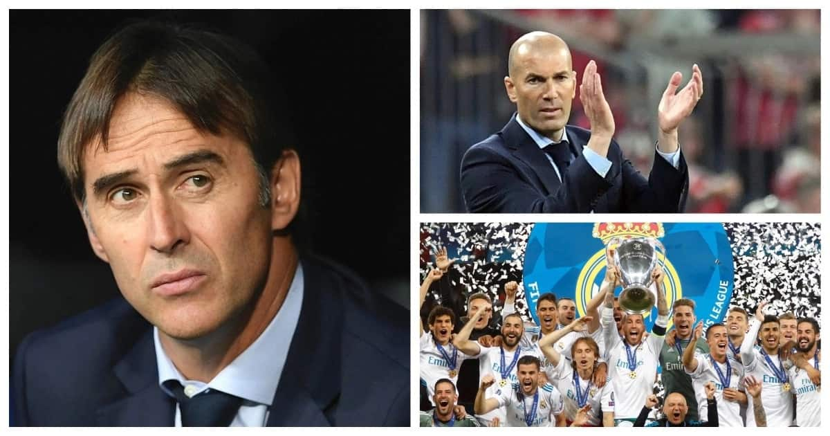Real Madrid name Julen Lopetegui as Zinedine Zidane's replacement at the Bernabeu
