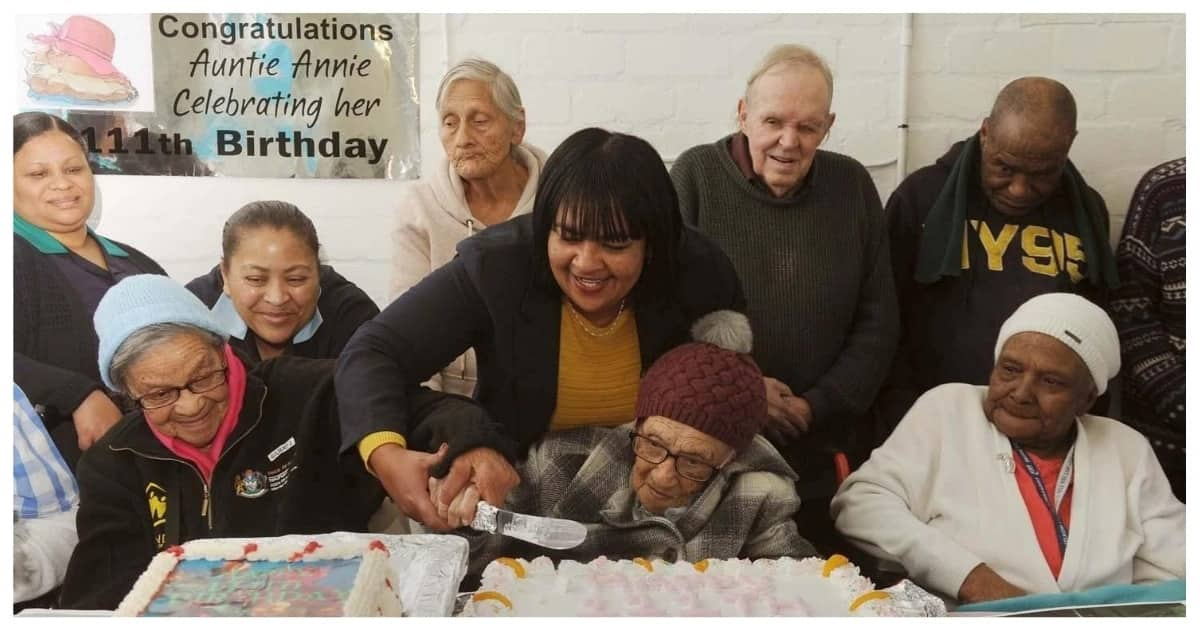 Beloved South African gogo celebrated her 111 birthday