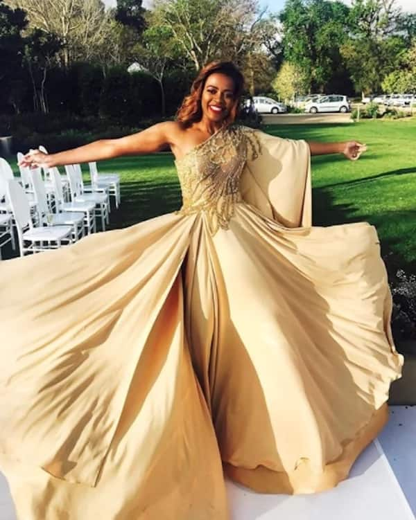 Thembeka has an incredible sense of style. Source: ZAlebs