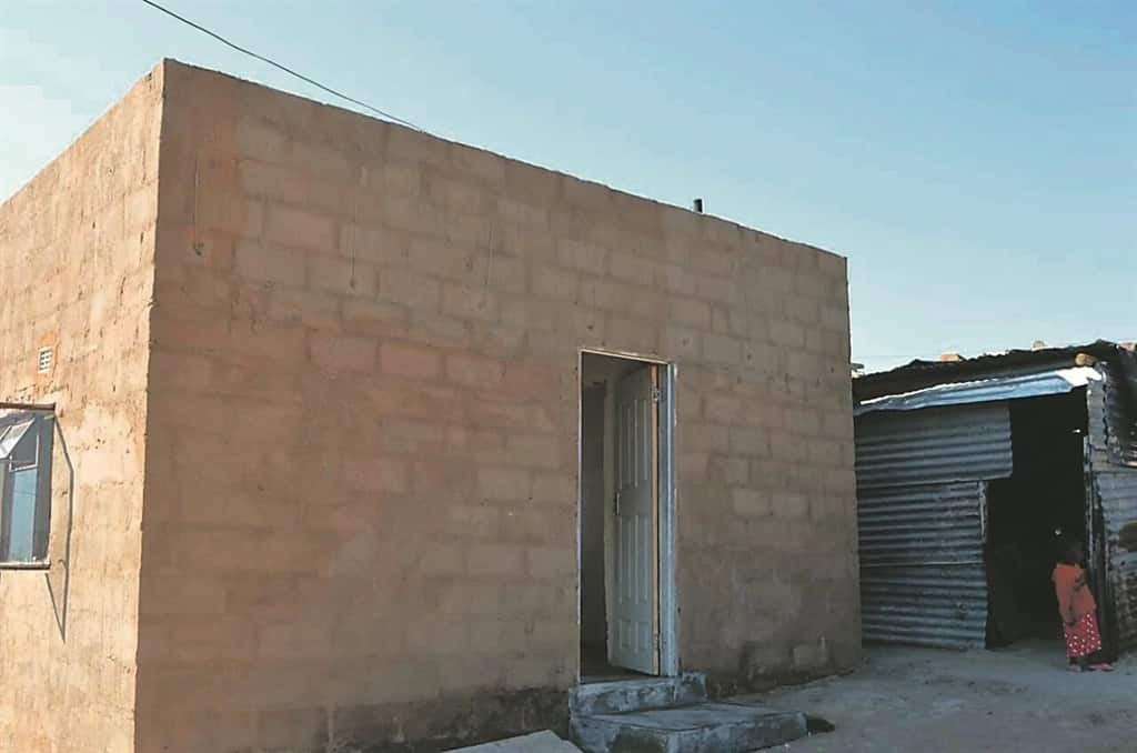 The new home Thandi and her kids have moved into. Source: Daily Sun