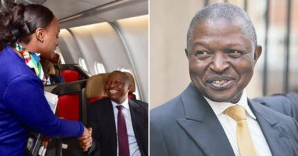 David Mabuza jets off to Kenya in business class, and tweeps are not impessed