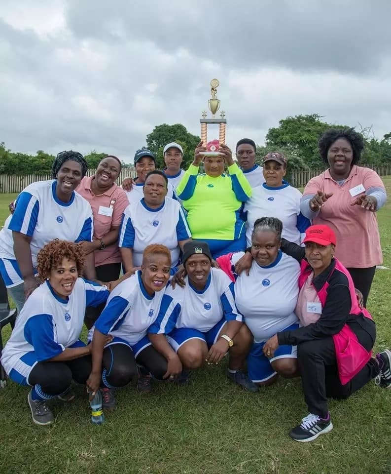 The proud winners from Molweni