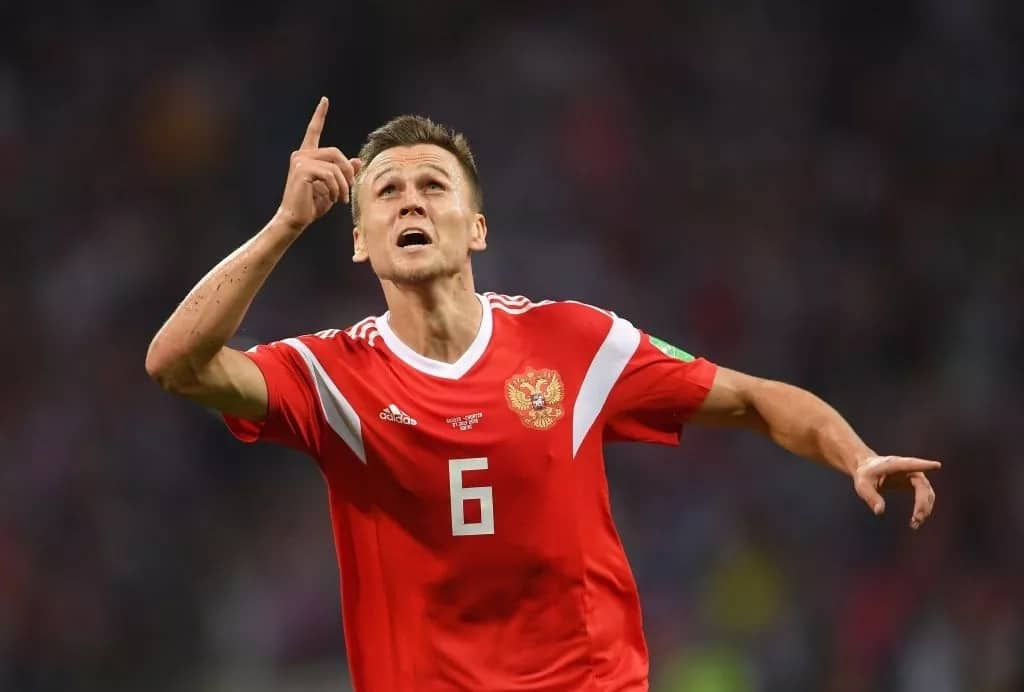 Russia's top scorer at World Cup Denis Cheryshev under investigation for alleged doping