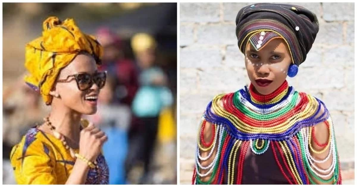 This video will show you 5 ways to wear a traditional doek