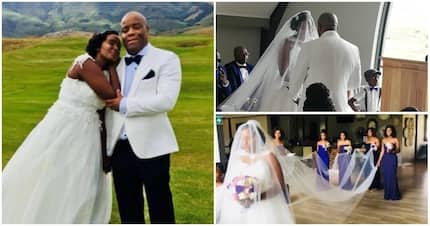 Beautiful photos from Power FM news anchor Bongiwe Zwane's wedding