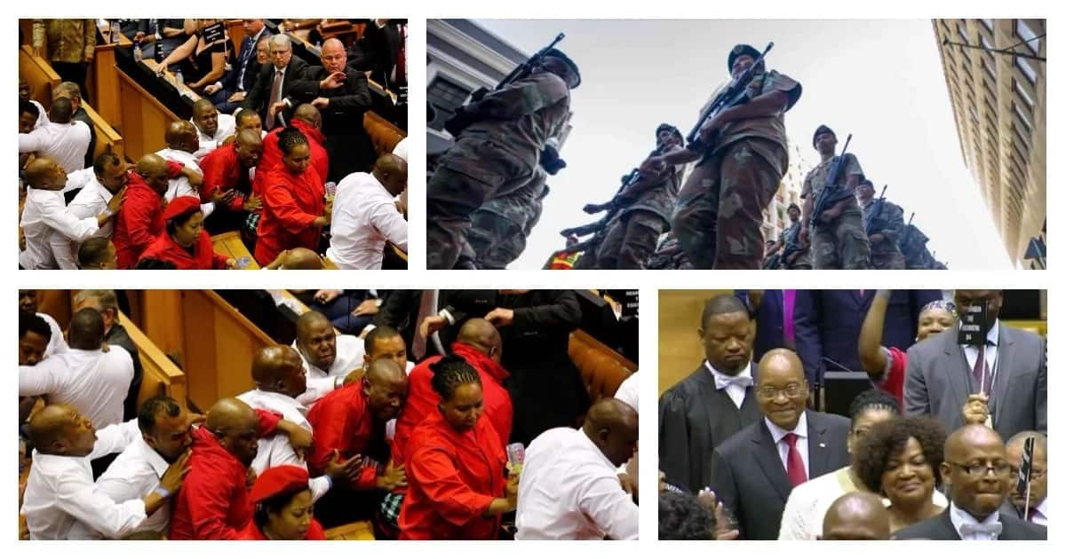 Can 2018's SONA top last year's drama? 5 memorable moments that rocked SONA 2017