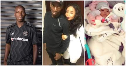 Meet cute family of Orlando Pirates star midfielder Musa Nyatama