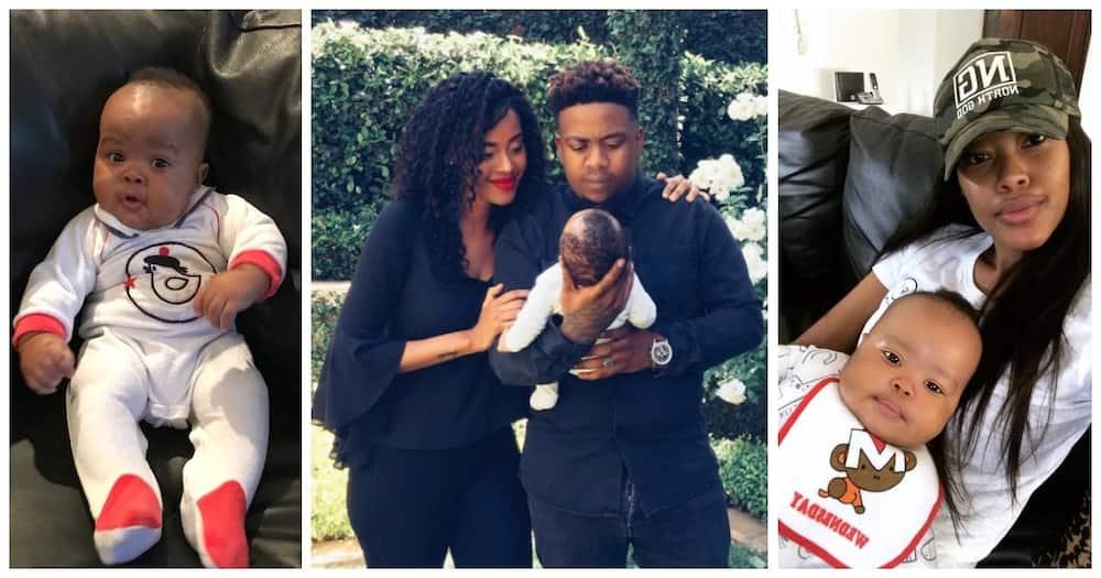 Tshepi Vundla and JR precious prince Siba turns 3: Time is flying