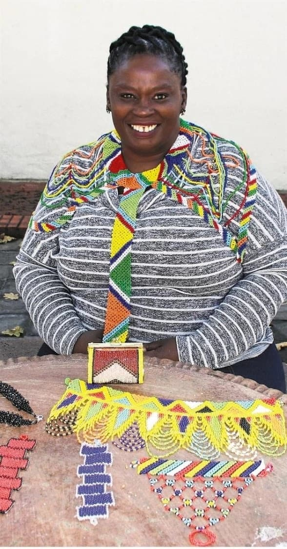 Meet Yolisa Fuma, the lady who built an international business with her creative beading.