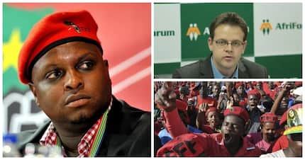 Floyd Shivambu says EFF is ready for the war AfriForum is threatening