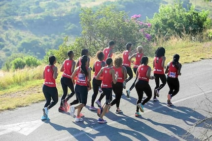 Mother finishes Comrades Marathon in memory of her young daughter