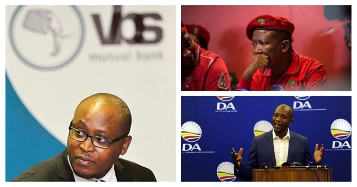 VBS scandal: CEO claims ANC, DA and EFF requested funding or sponsorship
