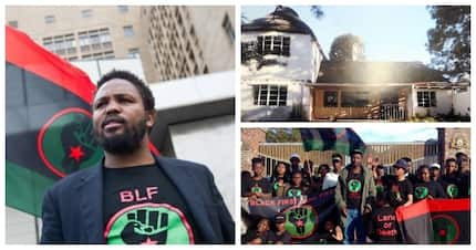 BLF leader Andile Mngxitama at centre of controversy surrounding 'invaded' Pretoria house