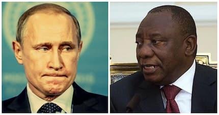 Putin may be angry with Ramaphosa