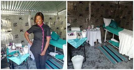 Woman makes her dream business a reality with the little she has