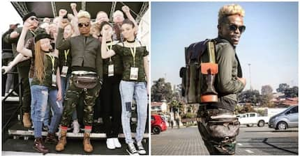 Somizi says no to the killing of people living with albinism
