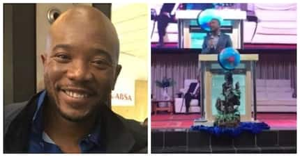 DA leader Mmusi Maimane slams racism during church service