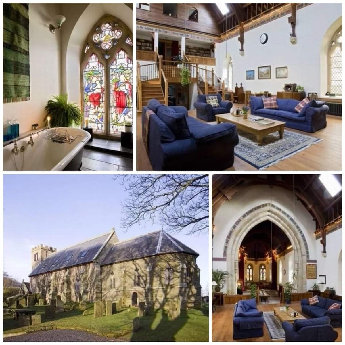 Would you live in a church? Couple turns beautiful old church into a home