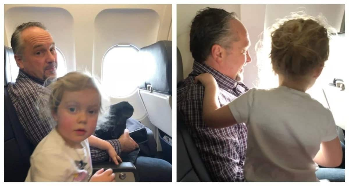Desperate mom was saved by a stranger's kindness on a plane