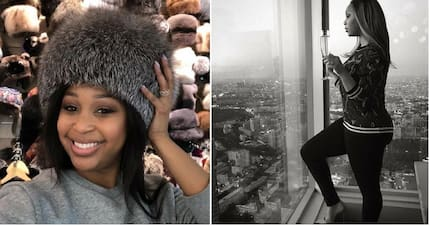"""Minnie Dlamini is living large in Russia: """"I'm having the time of my life"""""""