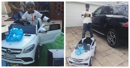 Emtee and Kenny share the same style of parenting