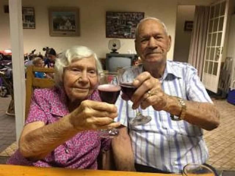 SA couple's 72-year marriage comes to an end: Their final moments together