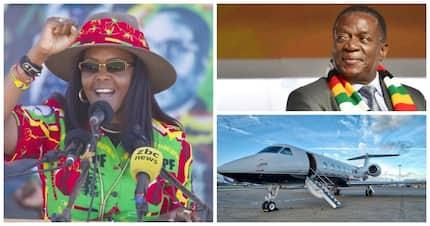 Zimbabwean president Mnangagwa arranges R5 million luxury airlift for Grace Mugabe