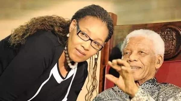 Zenani pictured with the late President Nelson Mandela. Source: IOL