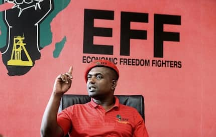 Godrich Gardee may be an EFF politician, but he's a dad first