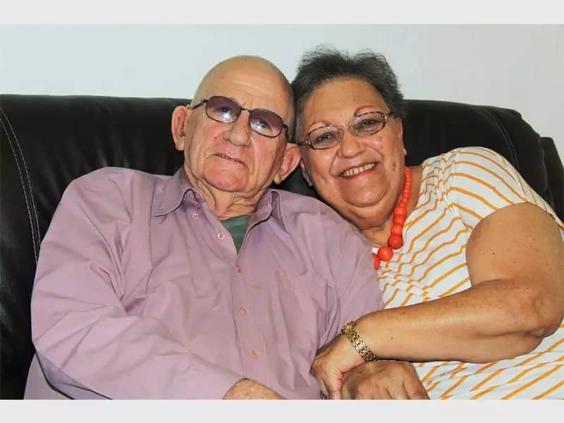 Don and Rose Walker marked their 60th wedding anniversary on 12 April. Source: Roodepoortrecord.co.za