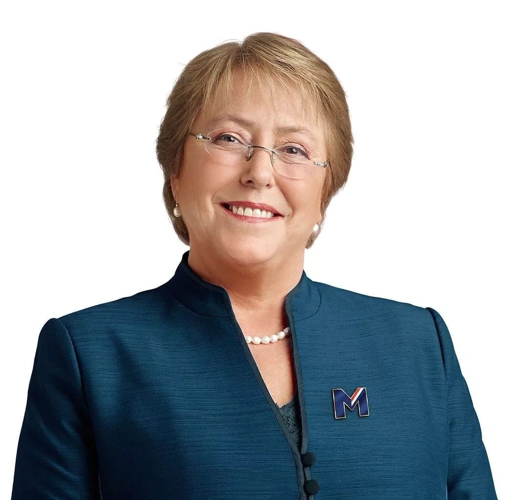 Michelle Bachelet, Chile's first female President. Source: Google