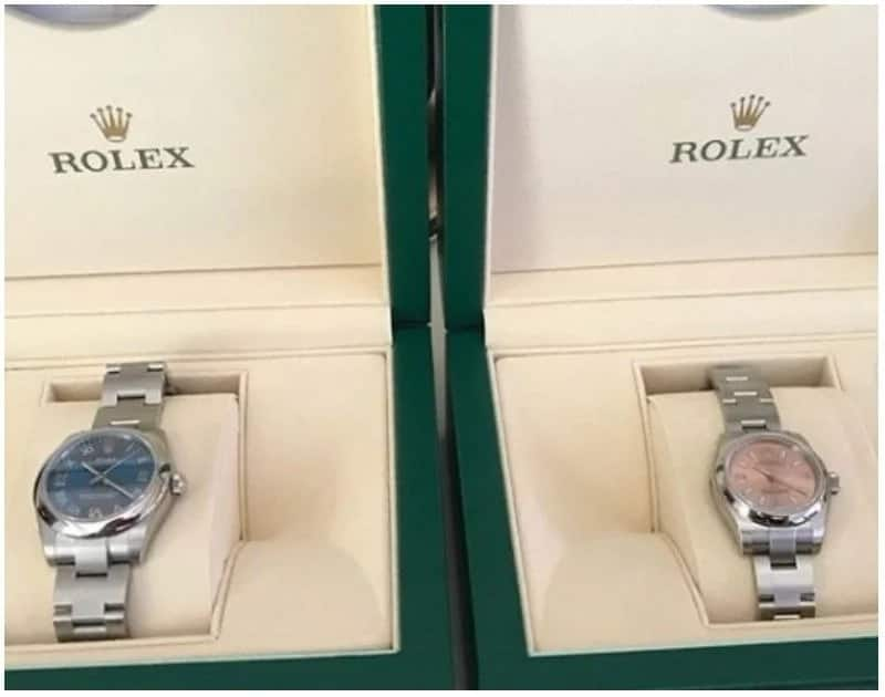 Spoiled babies: 2-year-old Twins get R120 000 Rolex watches for their birthday