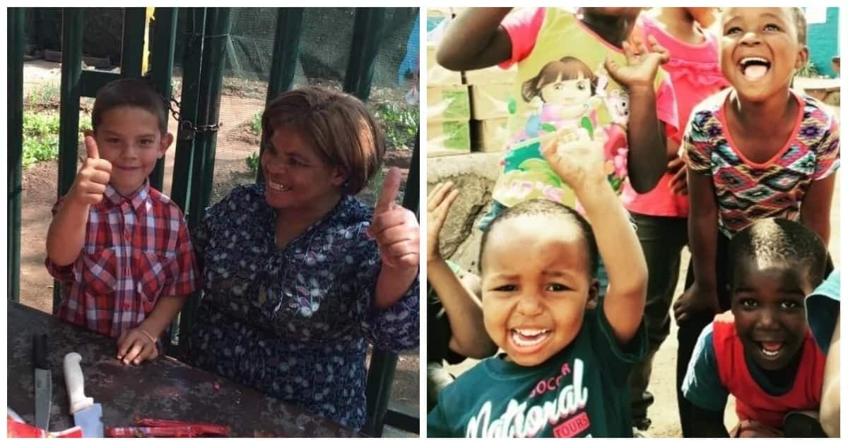 Bertrams' Beauty got help to feed the community's children when her own sons were killed