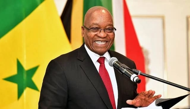 Jacob Zuma turns 76 on 12 April. Source: Google