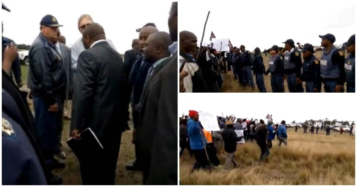 Chaos on the Wild Coast: Attorney arrested after argument with Mantashe