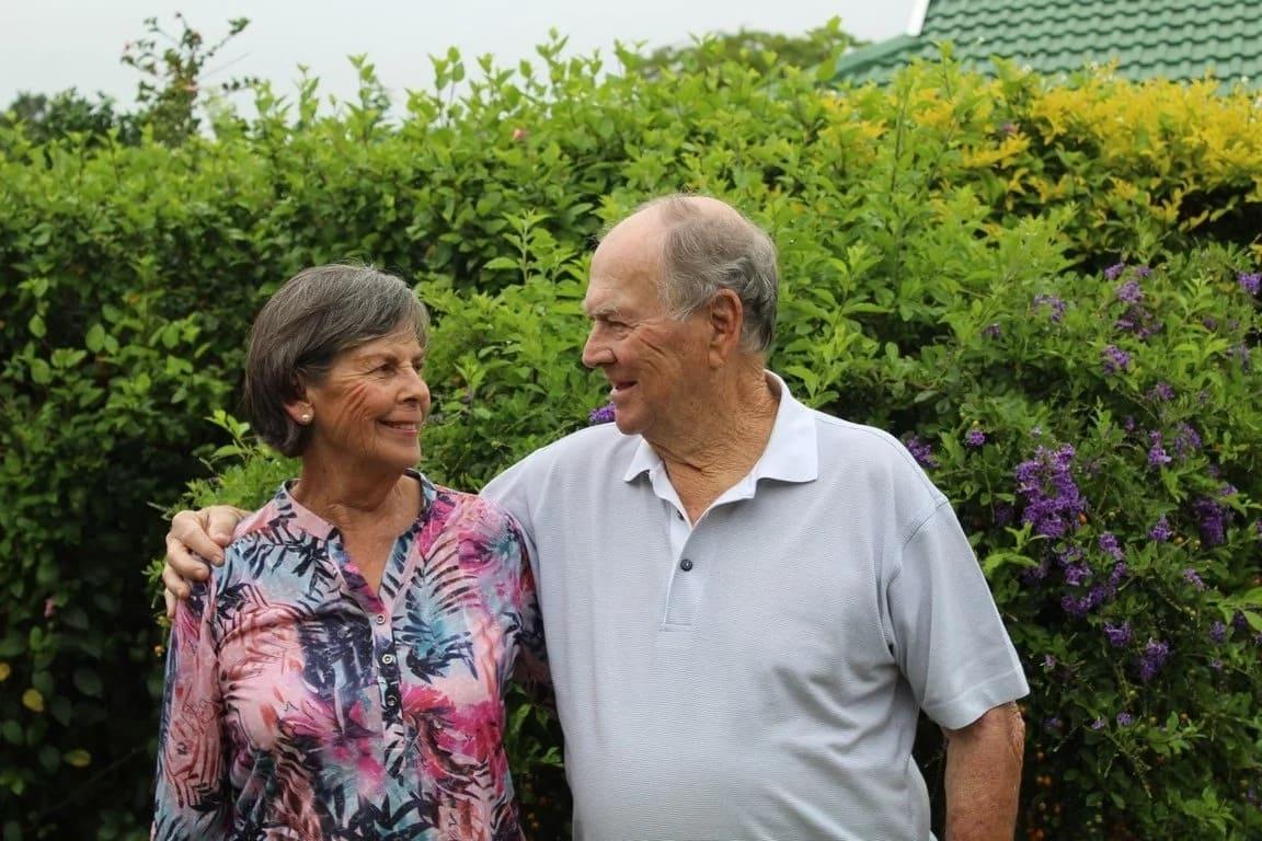 Barbara and Derek Brown. Source: Northglennews.co.za