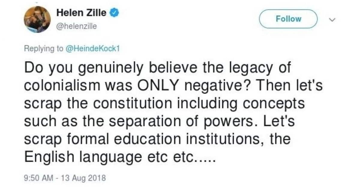 Mayor Mashaba and Helen Zille cause outrage with their tweets