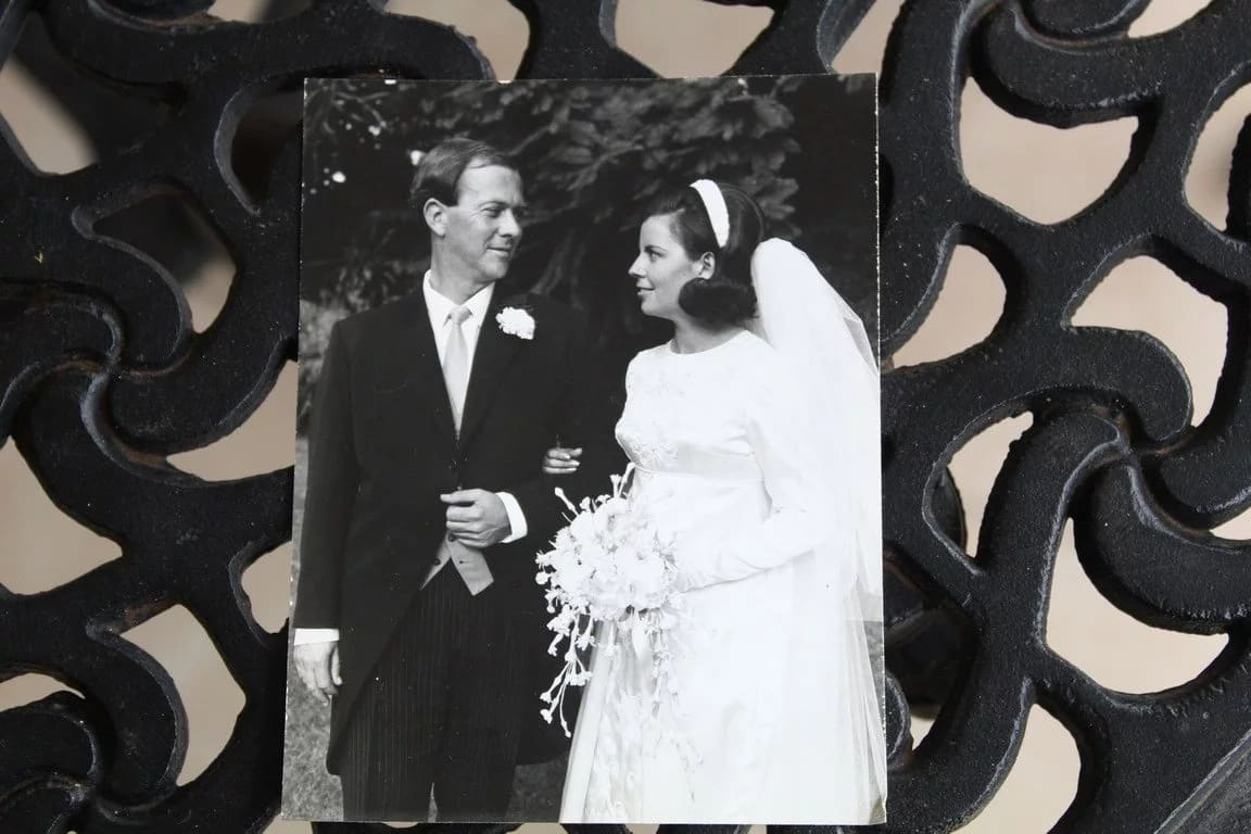 A picture of the could on their wedding day. Source: Northglennews.co.za