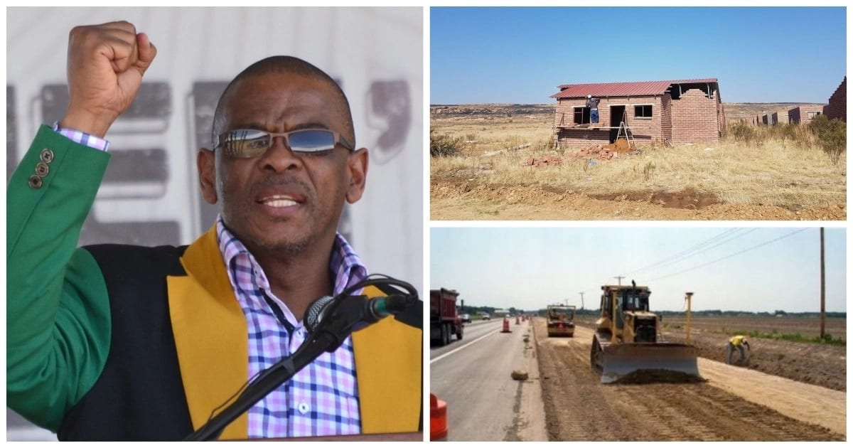 Ace Magashule's brother and daughter score in R300m Free State roads contract