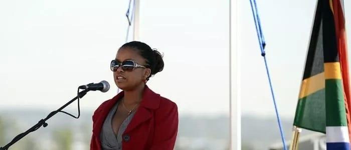 Lindiwe Hani at a past event. Source: 702.co.za