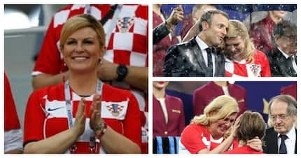 Croatian president wins admirers for her reaction to losing the 2018 World Cup