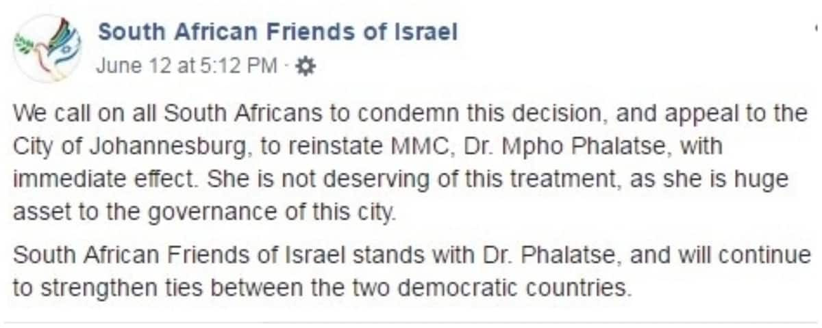South African Friends of Israel