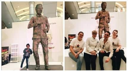 World's biggest Madiba cake comes in at 750kg and is 3m tall