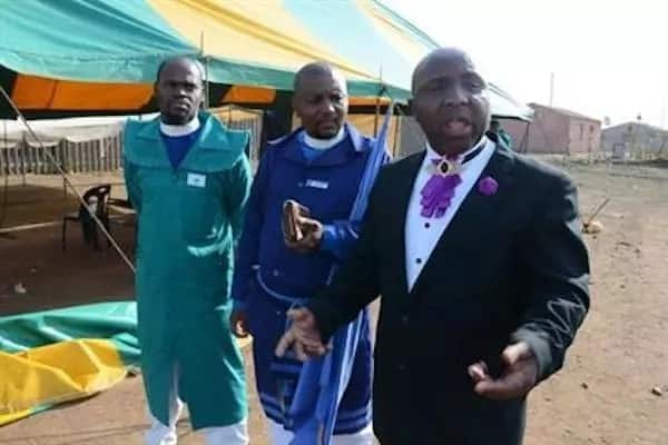 Some of the pastors. Source: Daily Sun/Ntebatse Masipa