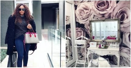 DJ Zinhle shares a glimpse into her luxurious walk-in closet