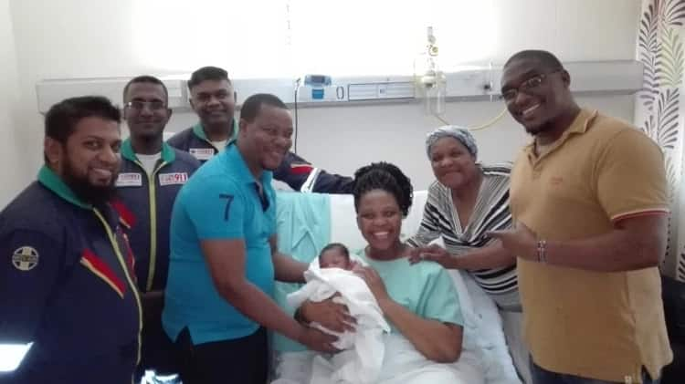 South African woman gives birth in hospital's parking lot