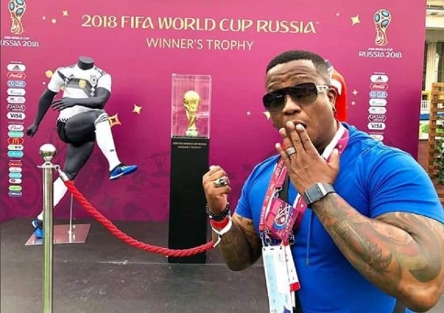 DJ Fresh lives it up in Russia for the 2018 Soccer World Cup final